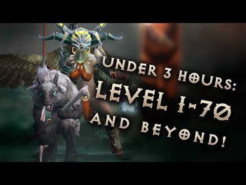 Diablo 3 Season 6 Fast Leveling: 1-70 & 6 Piece Set Gear In 4 Hours In Patch 2.4.1 (stream)