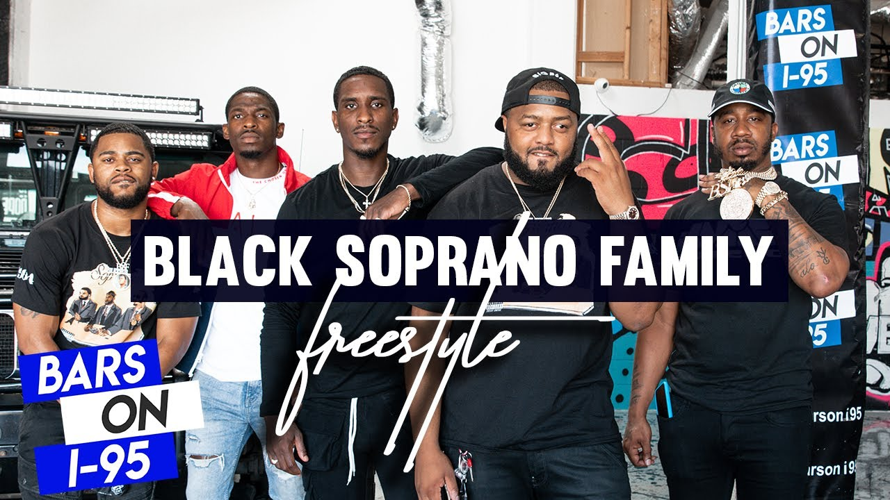 Black Soprano Family (BSF) BARS ON I-95 FREESTYLE