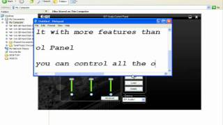 IDT Audio Control Panel