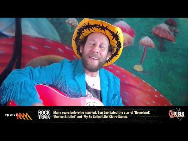 Ben Lee Performs The Paul Kelly Classic 'Careless' | Triple M