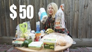 Grocery Cost of Living  - How does $50 worth of food look like in Melbourne, Australia?