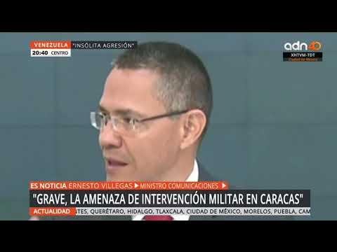 Trump amenaza con intervención militar en Venezuela si no resuelve crisis