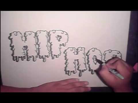 Modacalle Como dibujar letras en graffiti paso a pasomp4  YouTube