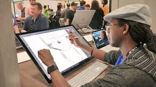 microsoft surface studio hands on review
