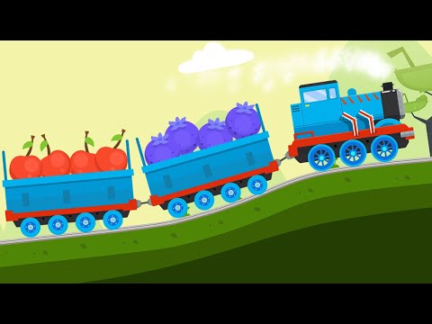 Train Driver - Train Simulator Games For Kids | Kids Games | Kids Learning | Kids Cartoon | Yateland