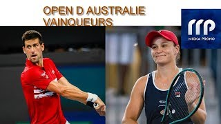 PRONOS TENNIS (vainqueur tournois ) DU 20 JANVIER 2020 AU 02 FEVRIER 2020 !!!! PARIS SPORTIFS !!!