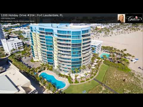 1200 Holiday Drive #204 | Fort Lauderdale, FL