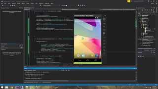 Xamarin Android Tutorial   21   Retrieving data using REST services