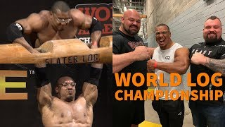 LARRYWHEELS COMPETES IN THE  WORLD LOG CHAMPIONSHIP / GIANTS LIVE