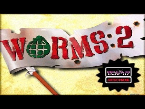 Worms 2 gameplay (PC Game, 1997)