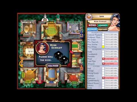 Let's Play Clue Classic, Episode 1, Miss Scarlet