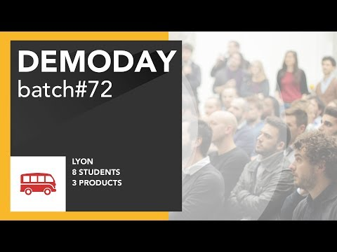 Le Wagon DemoDay - Batch #72 - Lyon