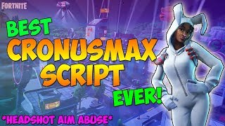 Fortnite - Cronusmax *HEADSHOT* AIM ABUSE Cronusmax Best Fortnite Script, Best Aim Abuse (Cronusmax)