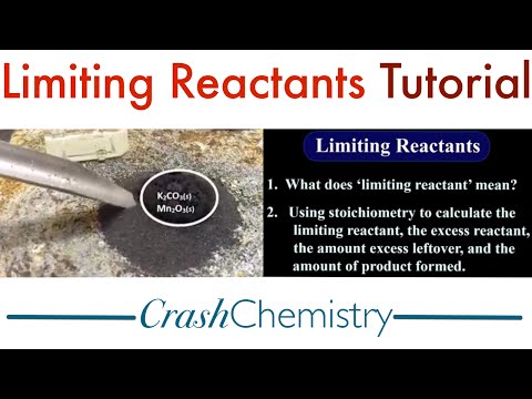 Limiting Reactants Tutorial: How to find Limiting Reactants / Limiting Reagents using Stoichiometry