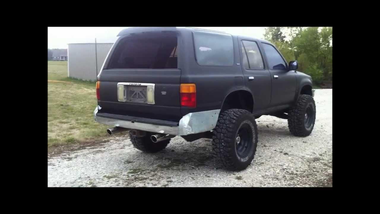 1995 toyota pickup exhaust