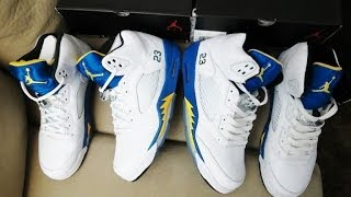 jordan 5 laney real vs fake