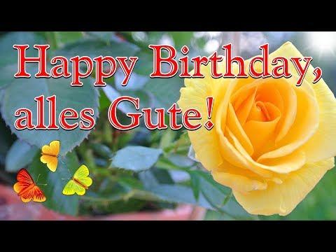 Geburtstagslied Schone Geburtstagsgrusse Geburtstagsvideo Happy