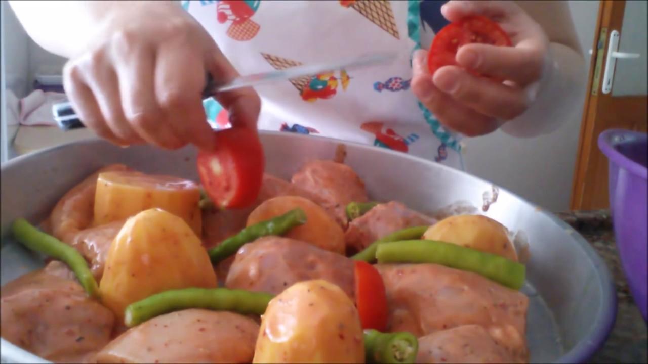 Fırında Soslu Tavuk Tarifi Videosu
