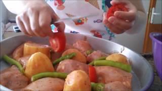 fırında yoğurt soslu tavuk tarifi