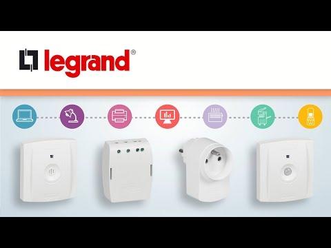 Système de gestion sans fil de l'énergie Legrand