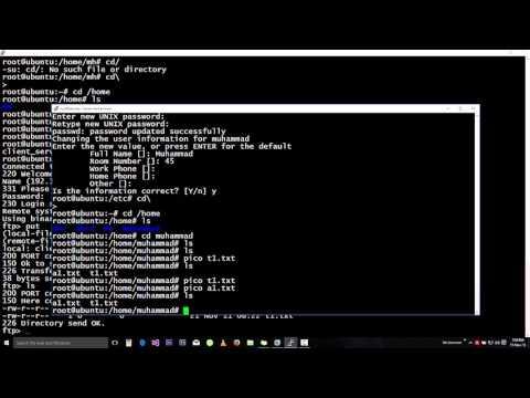 Basics of FTP Server - Linux - Ubuntu - VSFTPD