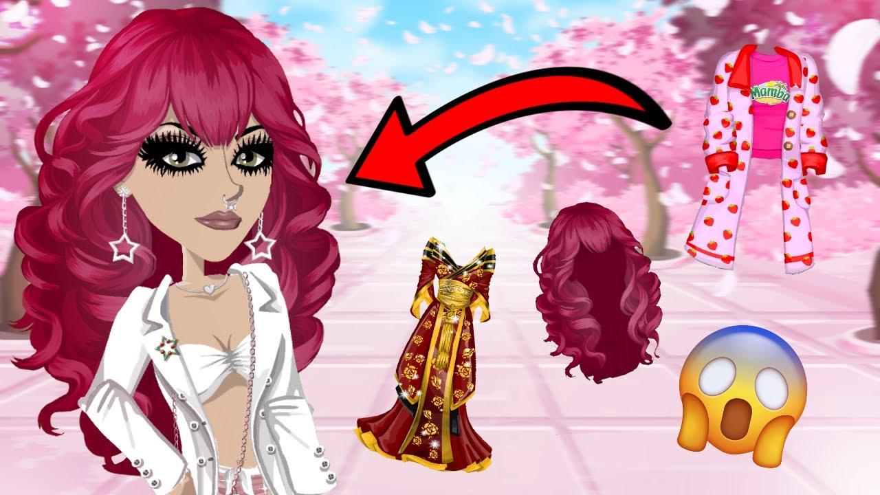 I got Sakura Hair?! | Rare Trading