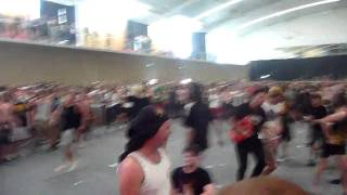 Suicide Silence - Wall Of Death - No Sleep Til Perth 2010