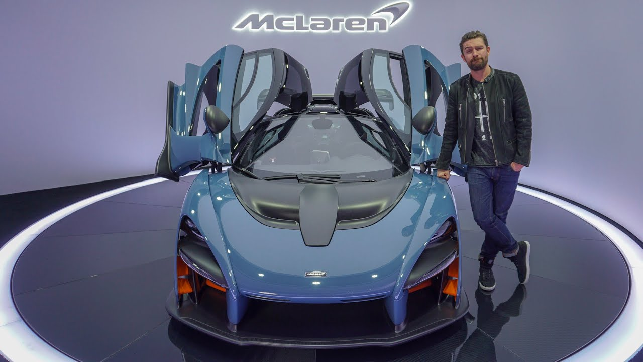 NEW McLaren Senna First Look & Exhaust Sound! Video