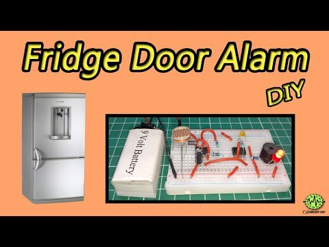Fridge Door Alarm | 555 timer projects | electronic projects | DIY
