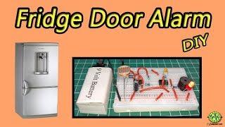 Fridge Door Alarm   Using 555 Timer IC   Easy   DIY   Electronic Project   Homemade