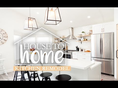 The BIG Kitchen Remodel, Before and After | DIY |  House to Home Episode 5