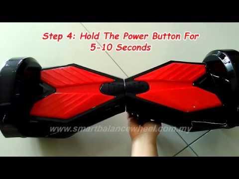 smart balance board instructions