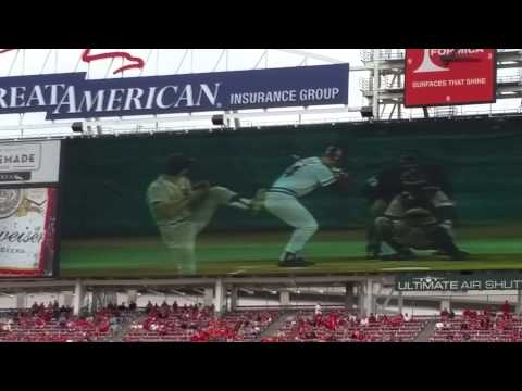 Pete Rose highlights from dedication day 9 12 2015