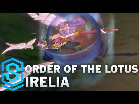 Order of the Lotus Irelia (2018) Skin Spotlight - League of Legends