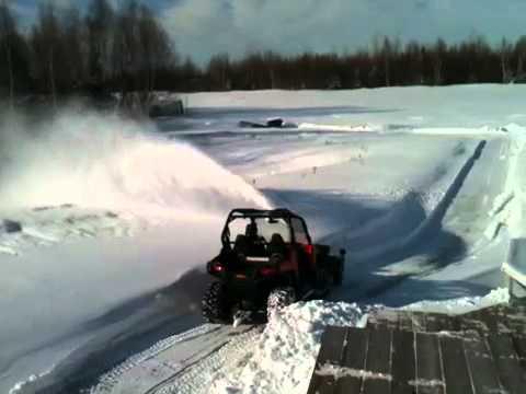 Souffleur VTT ( Souffleuse ,Bercomac, Honda ) - YouTube
