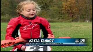 6-year-old is amazing motorcycle champ