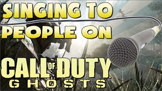 Funny Singing to Random People on XBOX LIVE!
