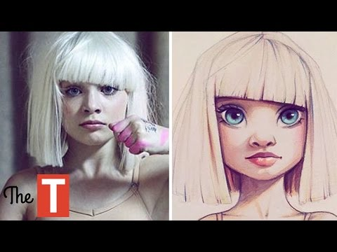 Thumbnail: 30 Celebs Reimagined As Cartoons