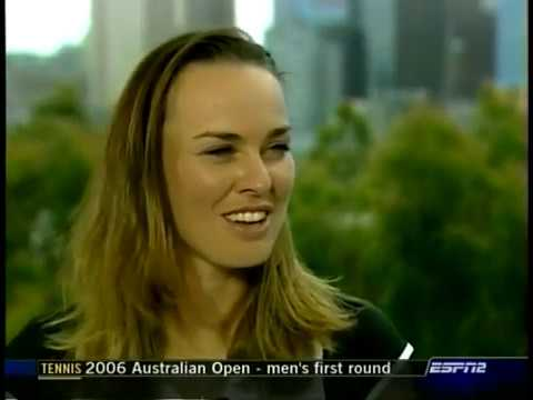 2006 Australian Open Martina Hingis vs. Vera Zvonareva