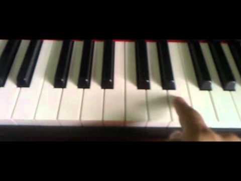 Love Song Big Bang piano Tutorial part1