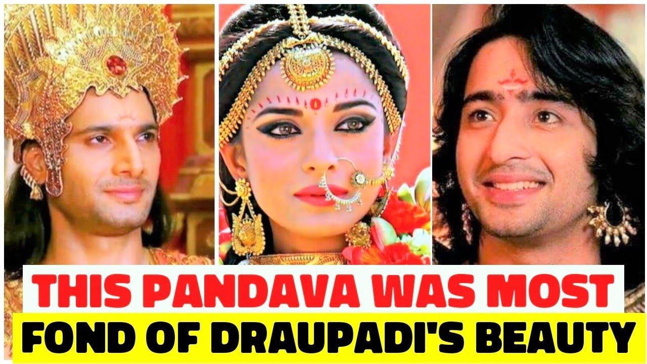 This Pandava was most fond of Draupadi's Beauty