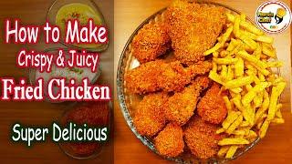 The Best Homemade Fried Chicken Recipe HFC, Secrets of KFC Style Fried Chicken