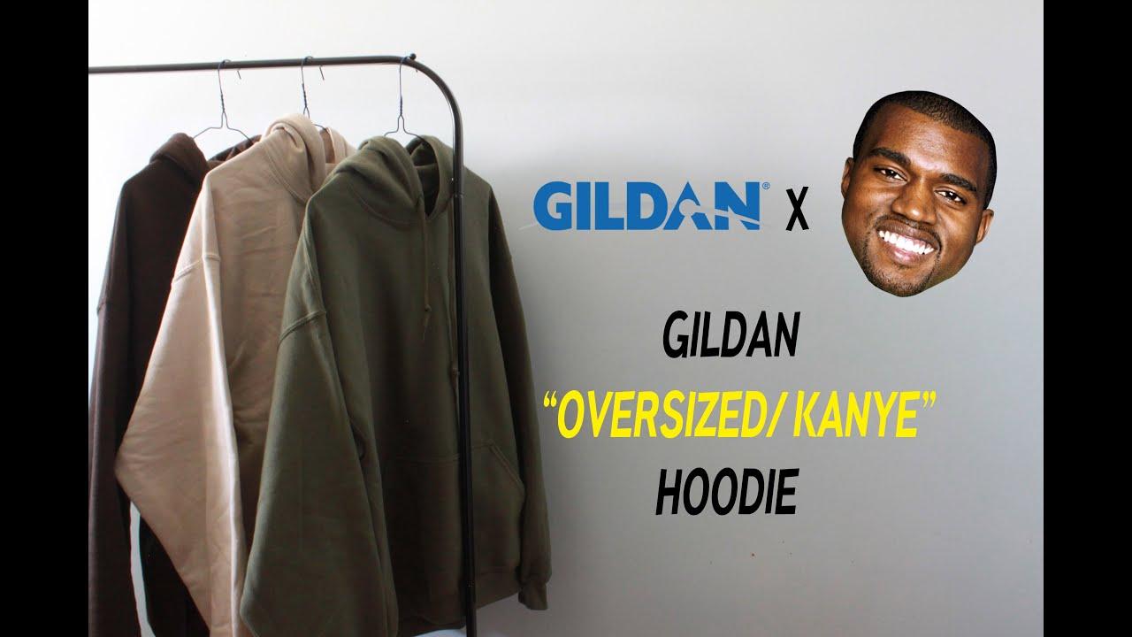 37be675848f57 REVIEW  GILDAN OVERSIZED HOODIES - YouTube