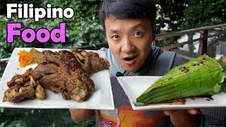 First Time Trying TRADITIONAL Filipino Food thumbnail