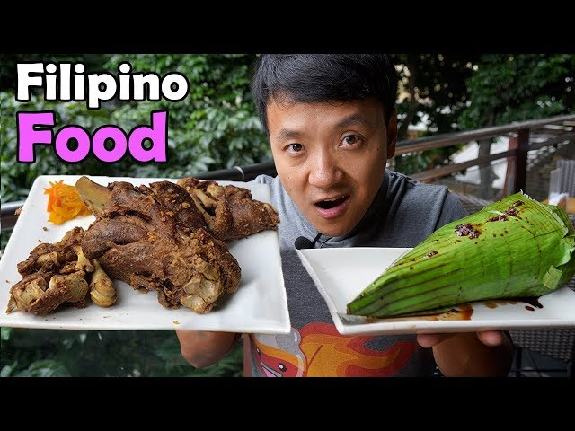First Time Trying TRADITIONAL Filipino Food