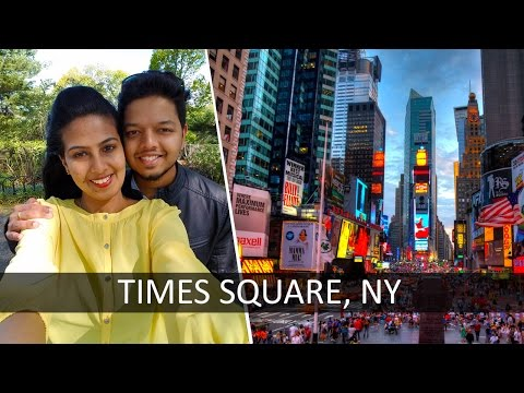 Times Square   New York   Malayalam Travel video   Trip Couple
