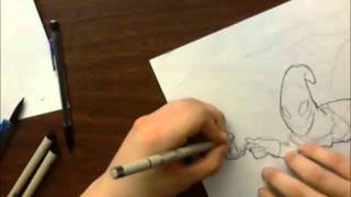 Candle Jack speed drawing