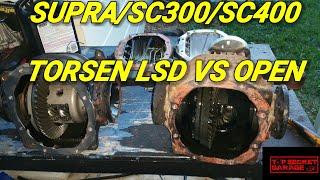 SUPRA/SC300/SC400 TORSEN LSD VS OPEN DIFF Video
