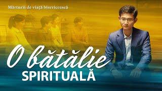 """Video de mărturie creștină """"O BĂTĂLIE SPIRITUALĂ"""" Adevărata experiență a unui creștin"""