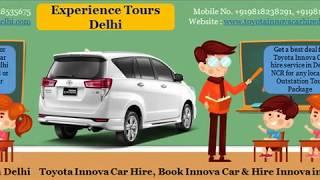 Innova Car on Rent, Innova car hire in delhi NCR